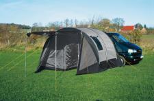 Tunnelbuszelt Zelt ECO, mit Schlafkabine für 2 Personen