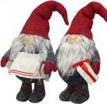 2x Gnom 34cm, Weihnachtsfiguren