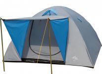 Doppeldach-Kuppelzelt Zelt Camping IGLU 2, für 3 Personen, 205 x 210 cm