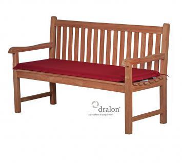 bankauflage aus dralon 180x47 cm aus hochwertigem dralon 5 cm dick von kai wiechmann polster. Black Bedroom Furniture Sets. Home Design Ideas