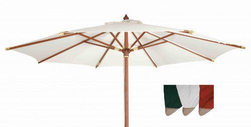 Robuster Sonnenschirm ø 300 cm von Kai Wiechmann® / Sonnendach/ Gartenschirm/ Schirm/ Gartenmöbel/ Marktschirm