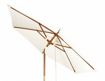 Robuster Sonnenschirm ø 240 cm von Kai Wiechmann® / Sonnendach/ Gartenschirm/ Schirm/ Gartenmöbel/ Marktschirm - Vorschau 2