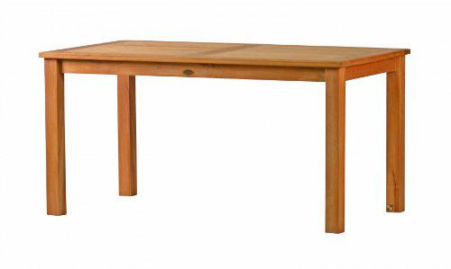 """Eleganter Gartentisch aus der Premium-Serie """"Brighton"""" gefertigt aus Teakholz 150x90 cm von Kai Wiechmann® / Teak-Tisch/ Holztisch/ Gartenmöbel/ massiv/ rechteckig/ Esstisch/ Premium-Qualität"""