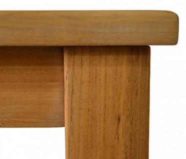 """Eleganter Gartentisch aus der Premium-Serie """"Brighton"""" gefertigt aus Teakholz 180x90 cm von Kai Wiechmann® / Teak-Tisch/ Holztisch/ Gartenmöbel/ massiv/ rechteckig/ Esstisch/ Premium-Qualität - Vorschau 2"""