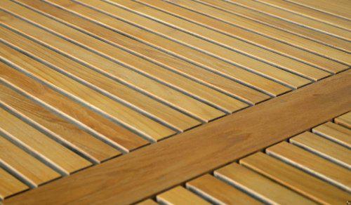 """Eleganter Gartentisch aus der Premium-Serie """"Brighton"""" gefertigt aus Teakholz 180x90 cm von Kai Wiechmann® / Teak-Tisch/ Holztisch/ Gartenmöbel/ massiv/ rechteckig/ Esstisch/ Premium-Qualität - Vorschau 3"""