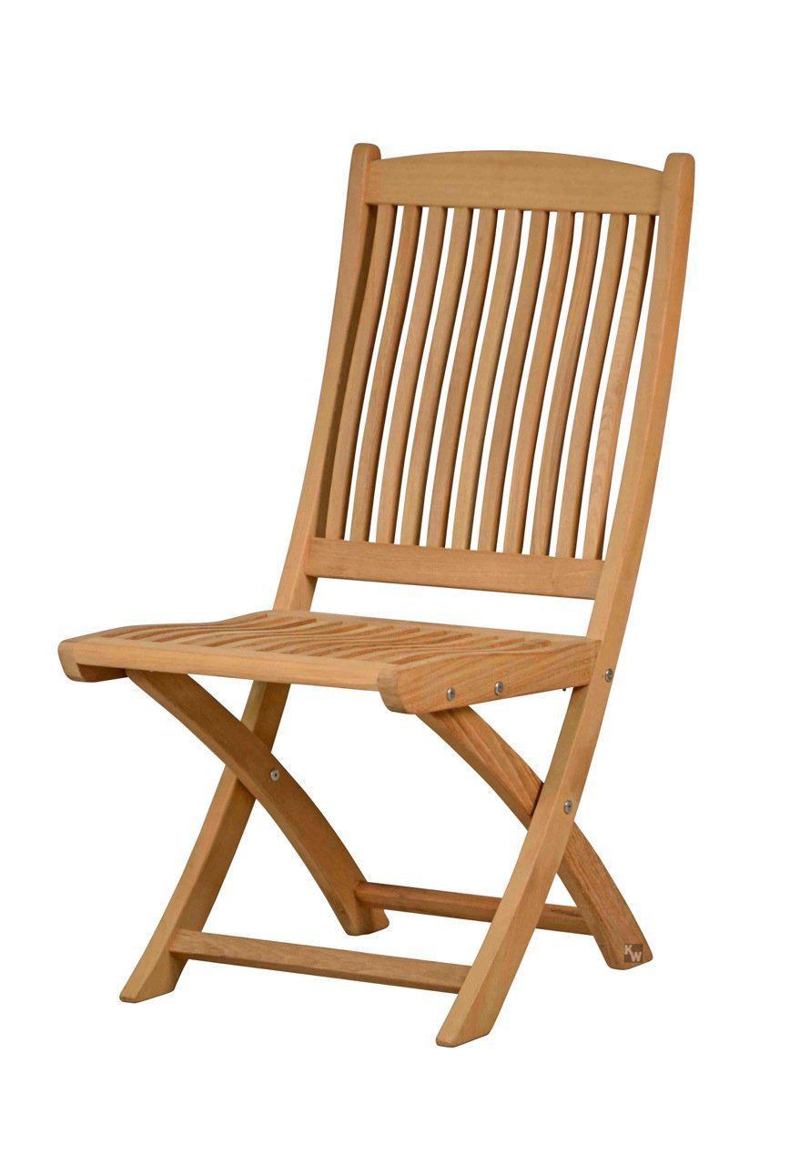robuster klappstuhl aus der serie portofino hochwertig gefertigt aus teakholz mit. Black Bedroom Furniture Sets. Home Design Ideas