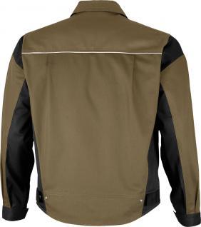 Bundjacke Pro Serie MG 245 khaki/schwarz - Vorschau 2