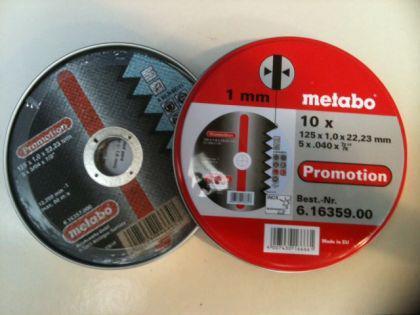 Metabo Trennscheiben Set 125x1,0mm a'10 Stück - Vorschau 2