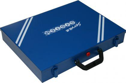 Sortimentskoffer mit Kunststoffeinsätzen SK66-23