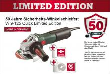 Metabo Winkelschleifer W 9-125 Quick Limited Edition