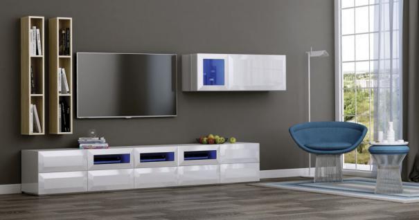 design : wohnzimmer wohnwand weiß ~ inspirierende bilder von, wohnzimmer