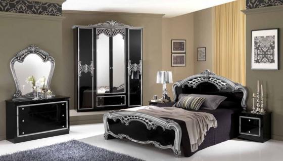 schlafzimmer schwarz silber ~ Übersicht traum schlafzimmer - Schlafzimmer Schwarz Silber