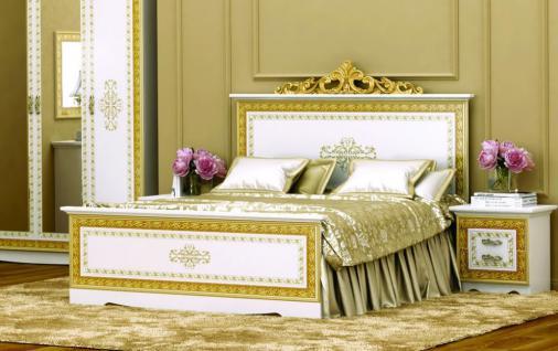 Schlafzimmer : Schlafzimmer Weiß Gold Schlafzimmer Weiß ... Farbige Kommode Fr Weisses Schlafzimmer Ideen