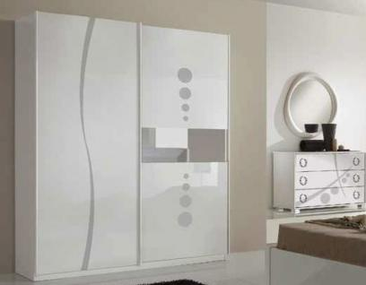 wei kleiderschrank schiebet ren g nstig bei yatego. Black Bedroom Furniture Sets. Home Design Ideas