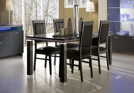 GAMA Tischset 160 x 90 cm mit 4 Stühlen