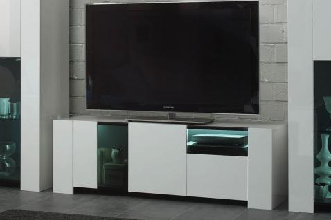 tv wohnwand hochglanz weiss g nstig online kaufen yatego. Black Bedroom Furniture Sets. Home Design Ideas