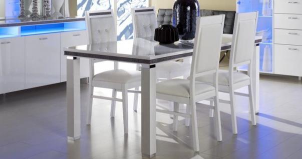 GAMA Tisch 160 x 90 cm in weiß