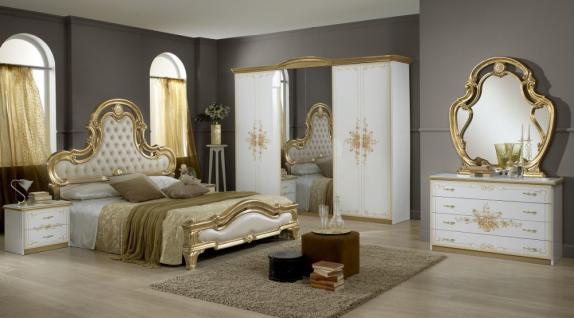 Schlafzimmer weiß gold  Schlafzimmer Weis Gold ~ Verschiedenes interessantes Design für ...
