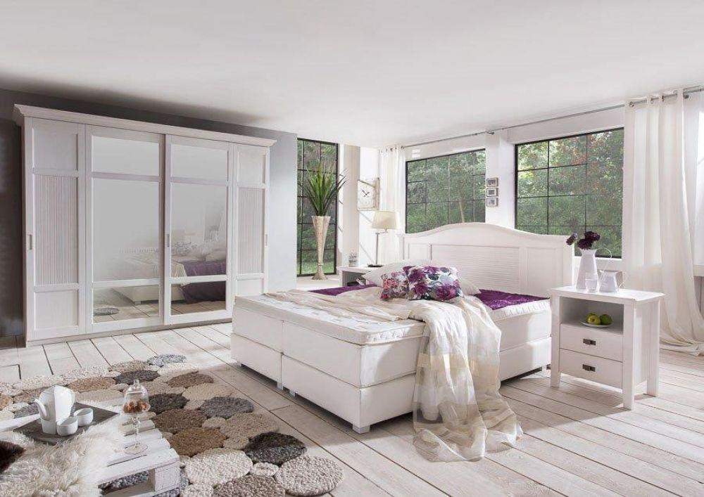 kommode christa im landhausstil weiss pinie massiv kaufen bei kapa m bel. Black Bedroom Furniture Sets. Home Design Ideas
