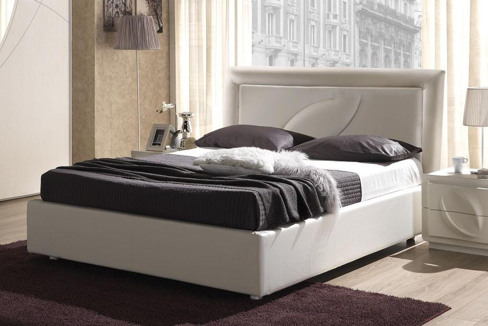 bett 160x200 cm trevia in weiss stilvoll elegante m bel. Black Bedroom Furniture Sets. Home Design Ideas