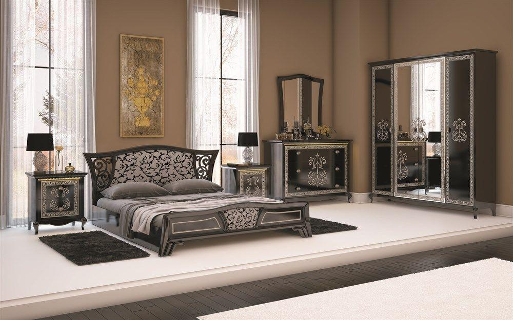 Wohnwand via 4 tlg weiss creme klassik barock italienisch for Sessel italienisch