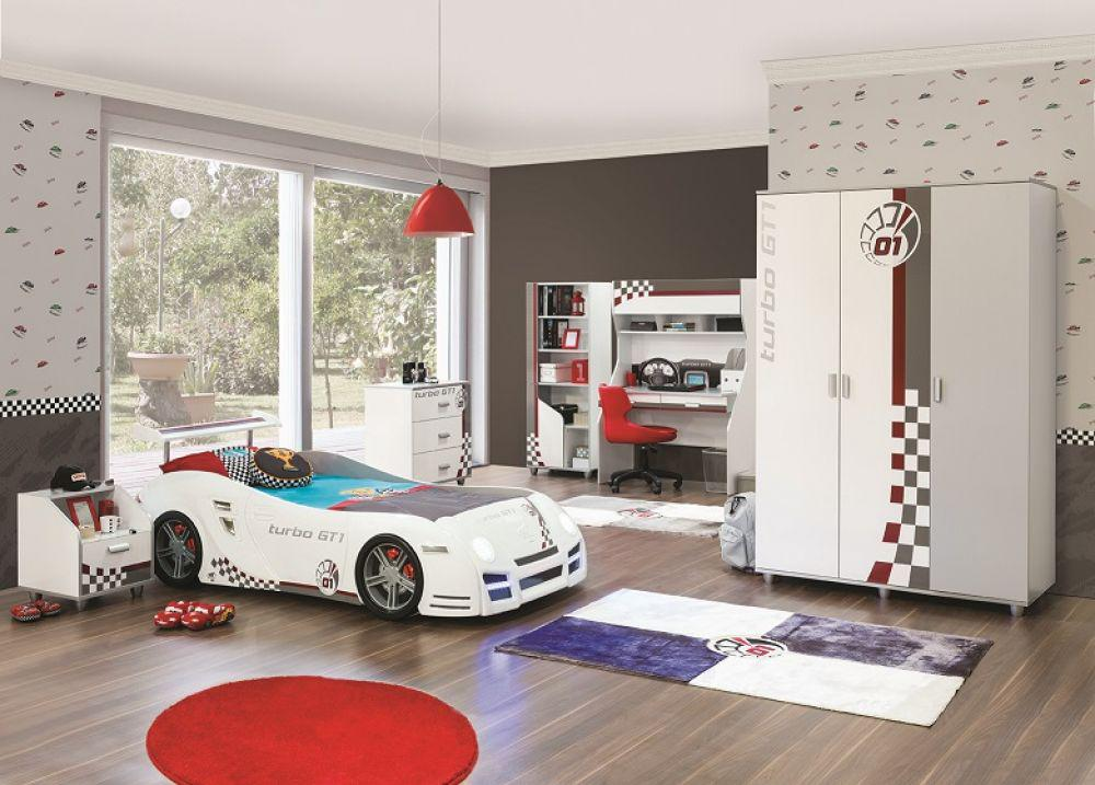 nachtkonsole turbo gt in weiss grau f r autobetten kaufen bei kapa m bel. Black Bedroom Furniture Sets. Home Design Ideas