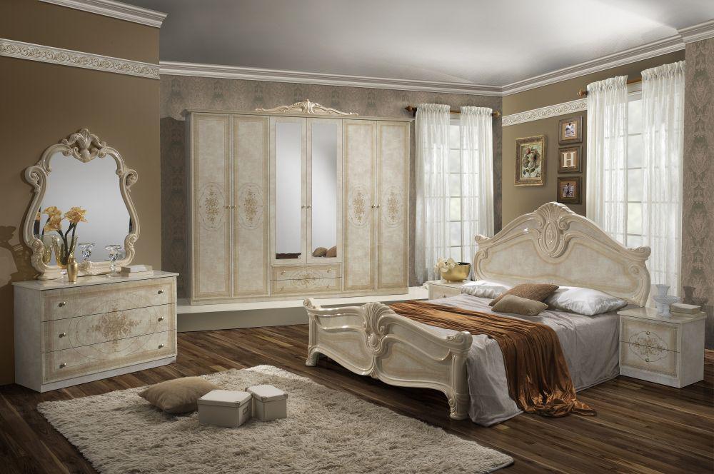 Schlafzimmer amalia in walnuss klassik italienisch for Schlafzimmer italienisch