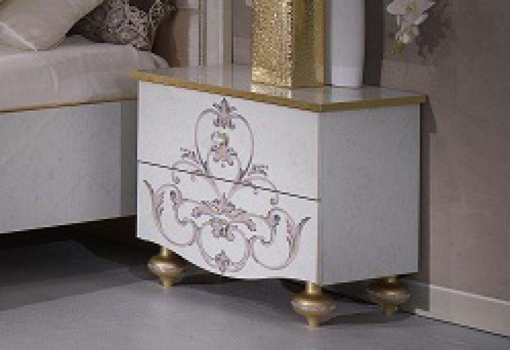 kommode mit spiegel weis carprola for. Black Bedroom Furniture Sets. Home Design Ideas