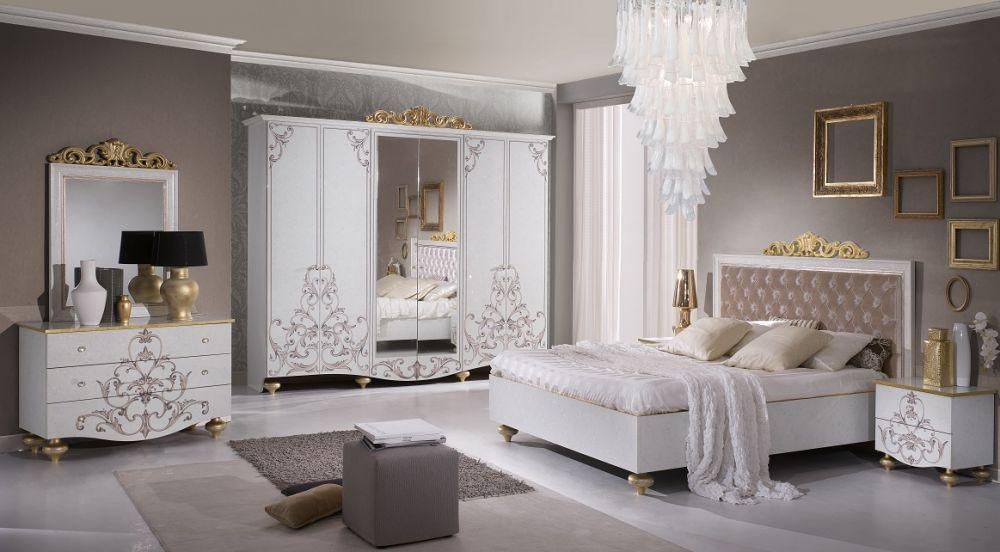Design schlafzimmer beige for Komplett schlafzimmer italienisch