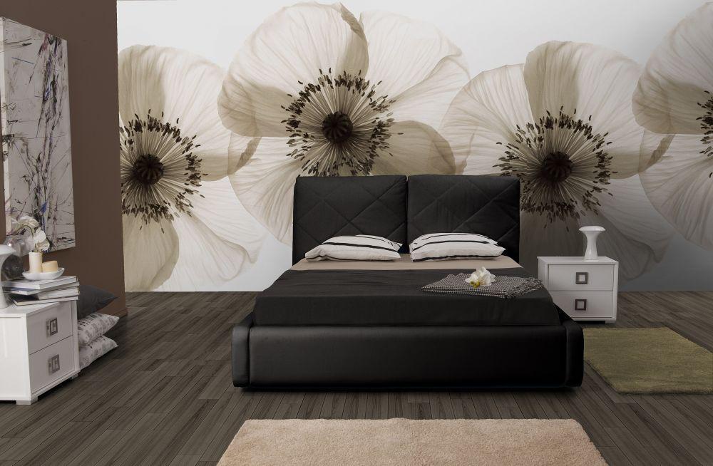 bett muna 160x200 cm polsterbett in schwarz kaufen bei kapa m bel. Black Bedroom Furniture Sets. Home Design Ideas