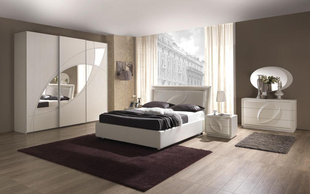 bett 160x200 cm trevia in weiss stilvoll elegante m bel kaufen bei kapa m bel. Black Bedroom Furniture Sets. Home Design Ideas