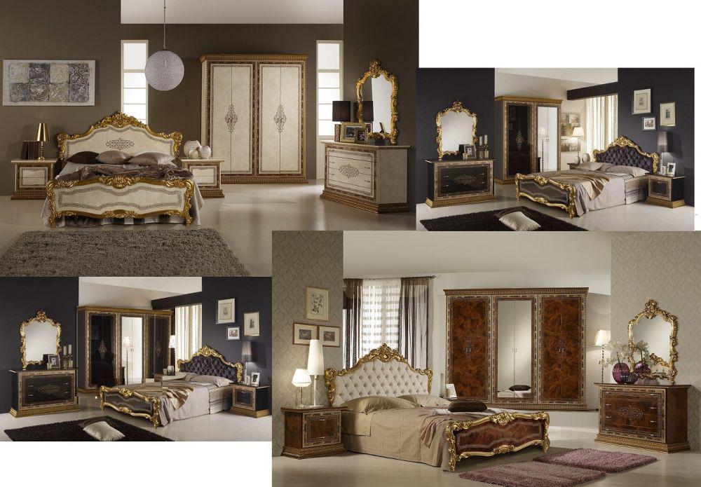 Esstisch Jenny Tisch beige gold Luxus Italien Barock Klassik - Kaufen ...