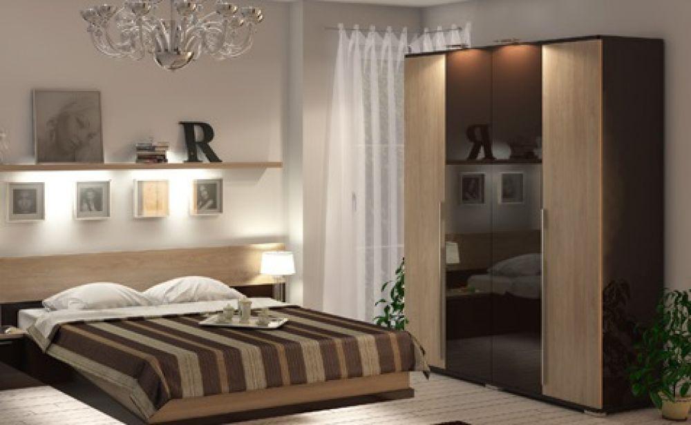 Kommode ohne Spiegel Tera in eiche braun für Schlafzimmer - Kaufen ...
