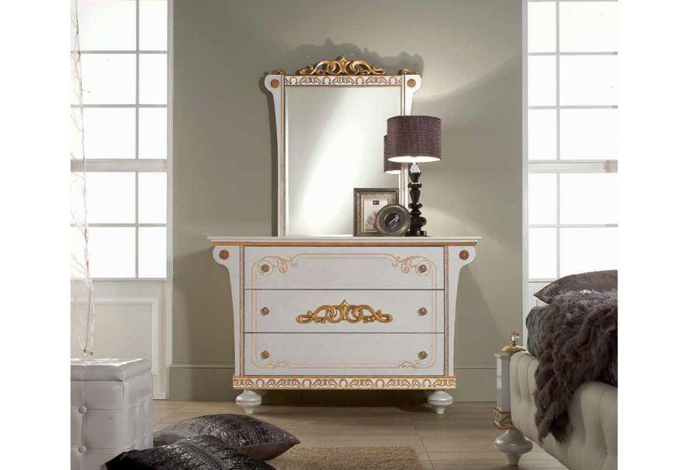 schlafzimmer wei gold. Black Bedroom Furniture Sets. Home Design Ideas