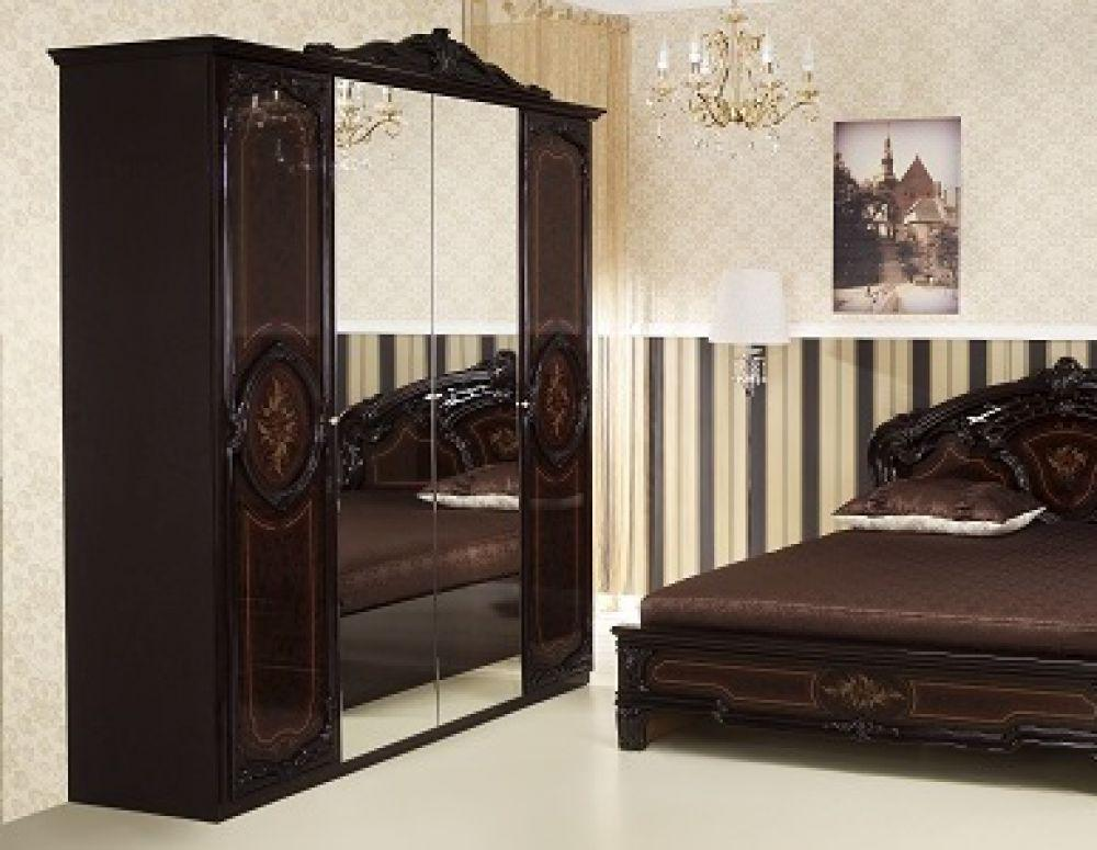 kleiderschrank rozza mahagoni klassischer design im. Black Bedroom Furniture Sets. Home Design Ideas