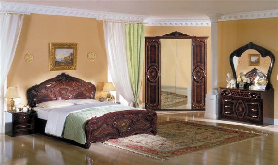 schlafzimmer rozza beige creme italien klassik barock design ... - Schlafzimmer Creme Beige