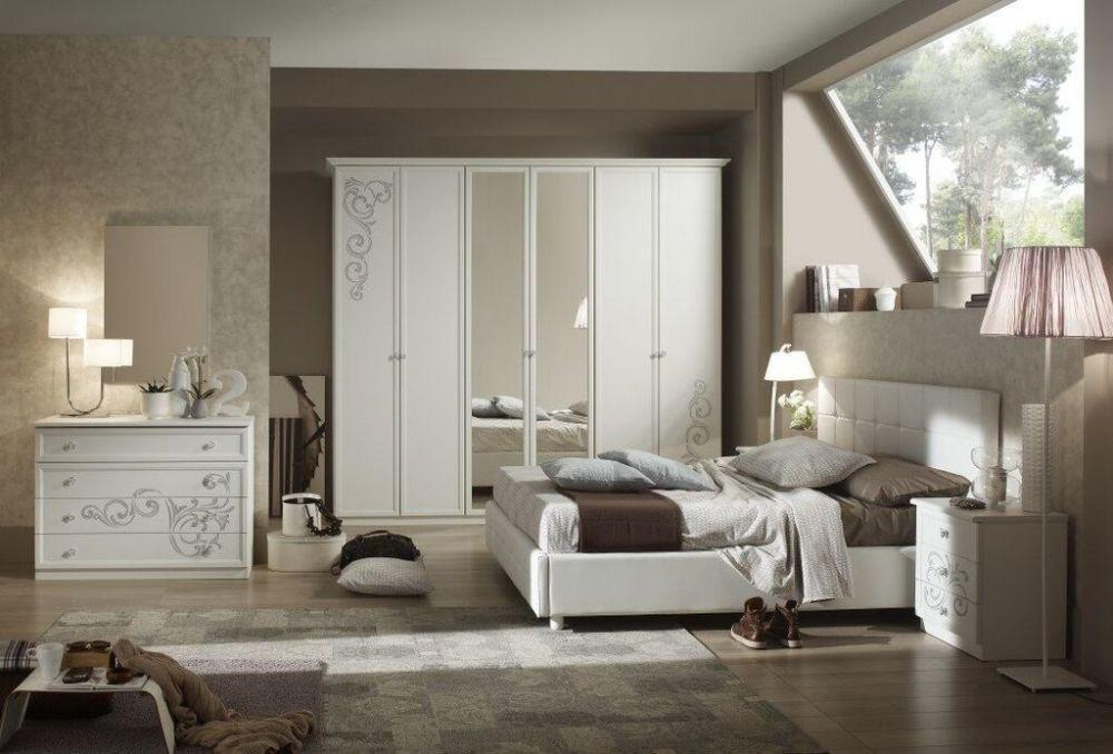 bett 160x200 cm matilee in weiss elegante m bel kaufen bei kapa m bel. Black Bedroom Furniture Sets. Home Design Ideas