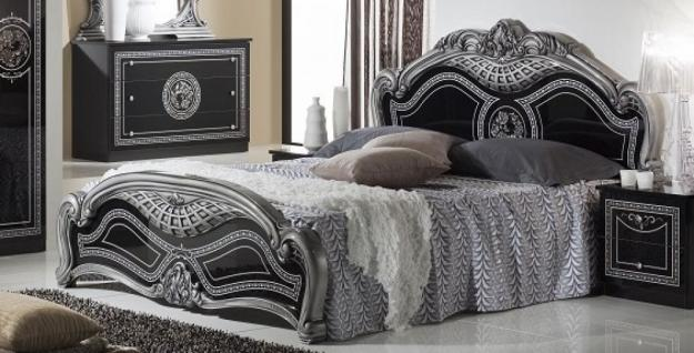 Luxus betten g nstig sicher kaufen bei yatego for Bett schwarz 160x200