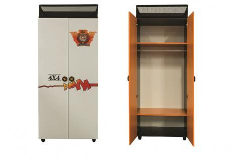 wei kleiderschrank schwarz g nstig online kaufen yatego. Black Bedroom Furniture Sets. Home Design Ideas