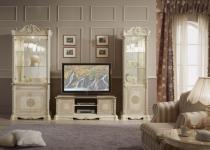 Wohnzimmer Great beige Vitrine TV Unterschrank