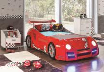 Autobett GT1 in rot inkl Lattenrost