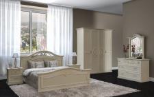Schlafzimmer Palermo in beige klassisch