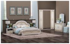 Schlafzimmer Elena beige creme Barock Klassik