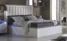 GAMA Bett 160 x 200 cm mit Polsterung am Kopfteil