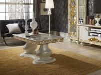 Couchtisch Desere beige gold Luxus für Wohnzimmer