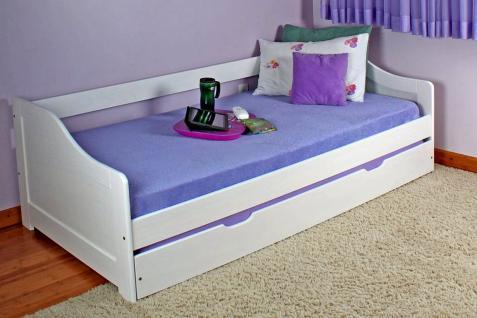 Sofabett Betty mit Unterbett, inklusive Lattenrost