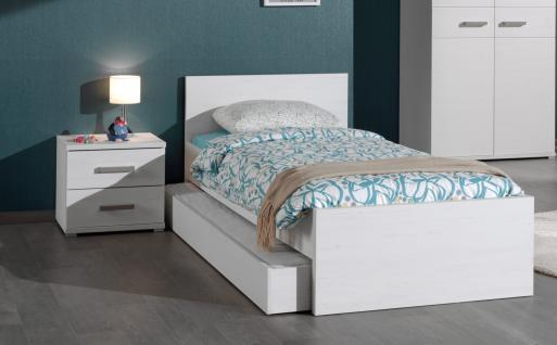 Kinderbett Set Loly 3-teilig in Weiß