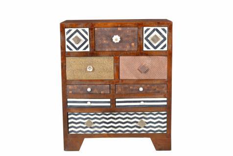 bunte kommoden g nstig sicher kaufen bei yatego. Black Bedroom Furniture Sets. Home Design Ideas