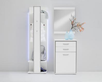 garderoben wei g nstig sicher kaufen bei yatego. Black Bedroom Furniture Sets. Home Design Ideas