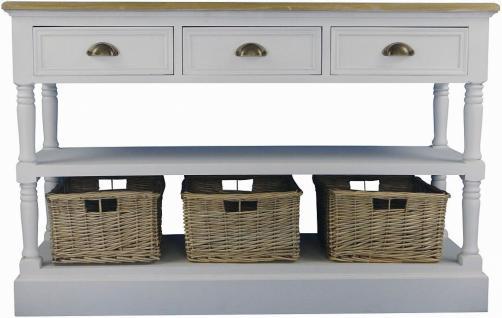 konsolentisch mit ablage bestseller shop f r m bel und einrichtungen. Black Bedroom Furniture Sets. Home Design Ideas